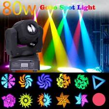 80W Moving Head Stage Light RGBW Gobo LED DMX Beam Club Disco DJ Party Lighting