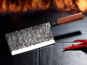 Chinesisches Kochmesser Scharfes Hackmesser, handgefertigt inkl. Präsentbox 17cm