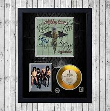MOTLEY CRUE DR. FEELGOOD CUADRO CON GOLD O PLATINUM CD EDICION LIMITADA. FRAMED