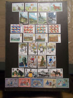 GB 1979 Commemorative Stamps, Year Set~Very Fine Used, ex fdc~UK Seller