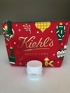 Kiehl's Creamy Eye Treatment with Avocado 14ml & Cosmetics Bag, BN RRP £26.50