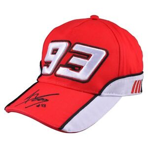 New Official Marc Marquez 93 Red Cap - MMMCA 103307