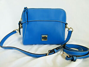Dooney & Bourke Cameron Crossbody Blue Handbag Blue NWOT MZ