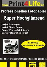 1000 Bl Fotopapier 180g 10x15 Super hochglänzend 9600DPI High Glossy DIN A6