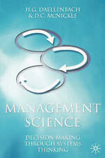 Management Science: Decision-making through systems thinking, McNickle, Donald,