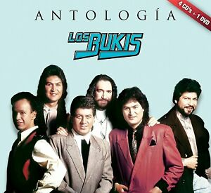Los Bukis Antologia 4CDS+DVD New Sealed CAJA DE CARTON