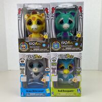 Feisty Pets Lot of 4 Collectible 4 Inch Toy Animal Figurines