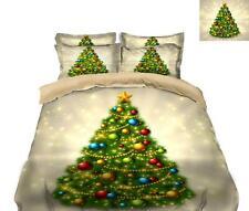 3D Glänzender Baum M625 Weihnachten Steppdecke Bettbezug Christmas Bett Fay