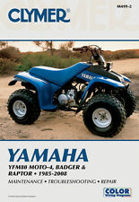 CLYMER Repair Manual for Yamaha YFM80 Moto-4, YFM80 Badger, YFM80 Raptor