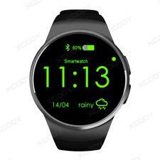 KW18 Inteligente Reloj Bluetooth SIM GSM Reloj Pulsera Para Android Teléfono iOS