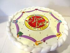 I LOVE LUCY  -  50TH ANNIVERSARY CAKE PLATE