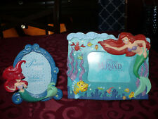 Two Disney Ariel Little Mermaid Picture Frames EUC
