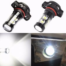 2x 50W CREE 5202 H16 6000K POWER Super White LED Fog Lights Driving Bulbs DRL