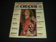 Freddie Mercury Queen Led Zeppelin Kiss 1976 Circus Magazine