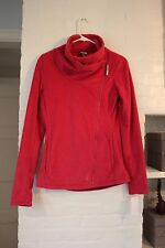 NWT Bench Women's Funnel Neck Zip Up Fleece SMALL SANGRIA PINK $79 SUPER SOFT