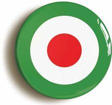 MOD ITALIAN  RETRO SIXTIES MOD BADGE BUTTON PIN (1inch/25mm diameter) 1960s