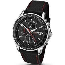 Sekonda Mens Black Dial Chronograph Watch 1005 RRP £79.99