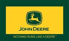 JOHN DEERE FLAG BANNER 3'X5': Fast Free Shipping
