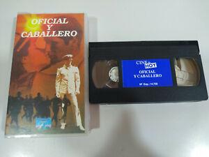 Oficial y Caballero Richard gere Debra Winger - VHS Cinta Español - 2T
