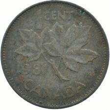 COIN / CANADA / 1 CENT 1981 / ELIZABETH II.  #WT17547