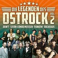 DIE LEGENDEN DES OSTROCK II (PANKOW, RENFT, ROCKHAUS,...) 2 CD NEU