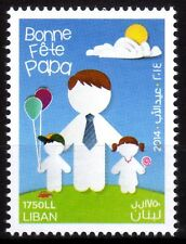 2014 Lebanon Father's Day Stamp MNH   Liban