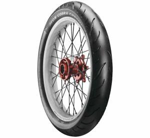 Avon 4120011 Cobra Chrome Motorcycle Tire Front 100/90-19