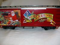 LGB Train G Scale 47674 Christmas Box Car