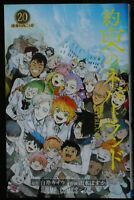 JAPAN manga LOT The Promised Neverland / Yakusoku no Neverland 1~20 Complete Set