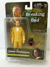 BREAKING BAD-Jesse Pinkman-6 inch Action Figure Yellow Hazmat Suit Meth Gas Mask