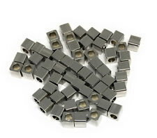 stainless steel square cube beads 3mm