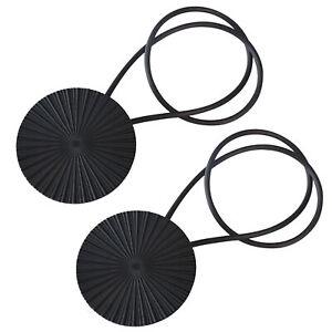 Magnetic Curtain Tiebacks 2x Vintage Curtain Holdbacks Decorative Drapery Rope
