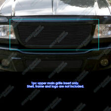 Fits 2001-2003 Ford Ranger Edge/XLT 4WD Black Billet Grille Open Top Only 2002