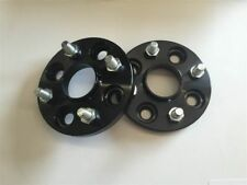 2 Pcs Black Wheels Spacers Adapters 4X108 to 4x108   73.1 CB   12X1.5   25mm