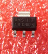 50PCS NEW AMS1117-1.8 AMS1117 LM1117 1.8V 1A SOT-223 Voltage Regulator IC