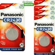 5 x Panasonic CR2430 3V Lithium Coin Cell Battery 2430, DL2430, 2028 EXP