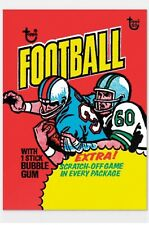 2018 Topps 80th Anniversary Wrapper Art Card 66 1975 Football