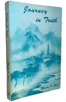 1996, JOURNEY IN TRUTH, by MANLY P. HALL, PHILOSOPHY, THEOLOGY, RESEARCH