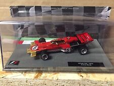 "DIE CAST "" LOTUS 72C - 1970 JACHEN RINDT "" FORMULA 1 COLLECTION SCALA 1/43"