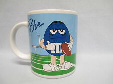 M&M Sports Mug ~ Blue Football and Red Golf  ~ by Galerie ~ M & M ~ 2002