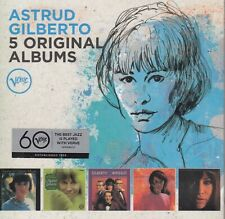 Astrud Gilberto / Look to the Rainbow, Windy, I haven't got … u.a. (5 CDs, NEW!)