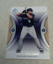 MATT HOLLIDAY 2007 UPPER DECK SP AUTHENTIC