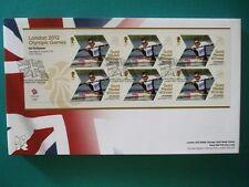 2012 LONDON 2012 Olimpiadi Medaglia d'Oro Vincitore primo giorno di copertina: ed McKeever