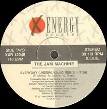 THE JAM MACHINE - Everyday (Freestyle Remix) - 1989 X-Energy - XXR-12045