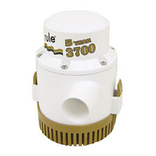 Rule 3700 G.P.H. GPH Gold Series Boat Marine Bilge Pump Non Auto 1-1/2 Outlet