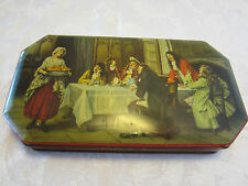 "Vintage tin box Halifax RILEY'S BROTHERS  England limited edition 9½""W 1940-60's"