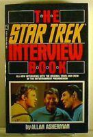 1988  Star Trek Interview Book-Allan Asherman-1st Print- 278 Pages-38 Interviews