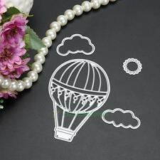 Metal Hot Air Balloon Cutting Dies Stencil DIY Scrapbooking Album Card Embossing