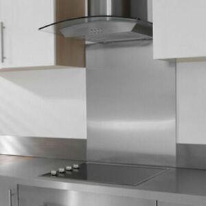 PREMIUM SPLASH BACK - Brushed Stainless Steel  - Grade 304 - Kitchen /Cooker etc