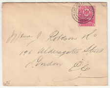 CGH: KEVII Cover; King Williams Town to London, 24 August-12 September 1903